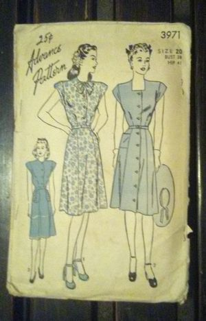 Vintage Dress pattern from 1930's - Rare for Sale in Jackson, MS