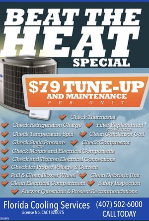 A/c tune up, repair, and installation. for Sale in Maitland, FL