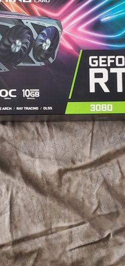 Asus Rog Strix 3080 OC for Sale in North Highlands,  CA