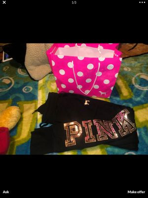 Pink sweats Xs for Sale in Stockton, CA