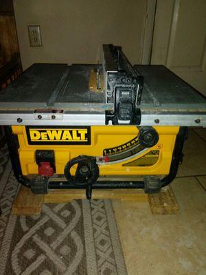 DeWalt Table Saw for Sale in Bartow, FL