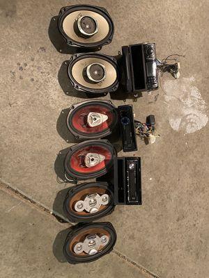 Pioneer car radioEverything $100 for Sale in Palmdale, CA