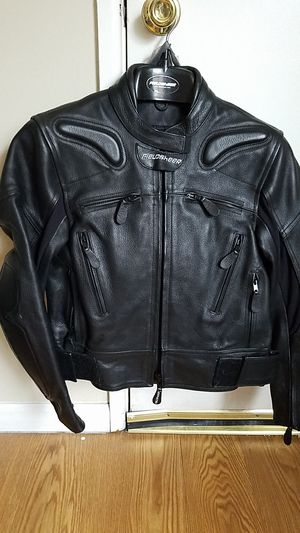 Women's Fieldsheer LEATHER MOTORCYCLE RIDING JACKET SIZE SMALL for Sale in St. Louis, MO