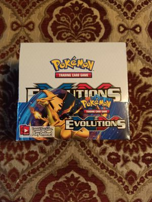 Pokemon Evolutions Booster Box x36 Packs with Holder for Sale in El Monte, CA