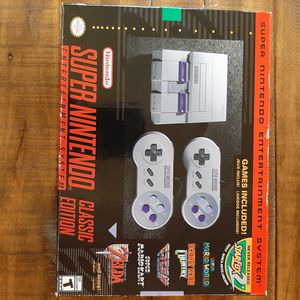 Super Nintendo SNES classic for Sale in New York, NY