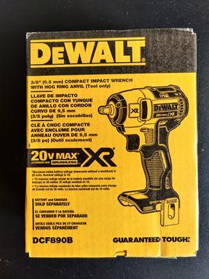 DCF890B DeWalt impact wrench XR for Sale in Falls Church, VA