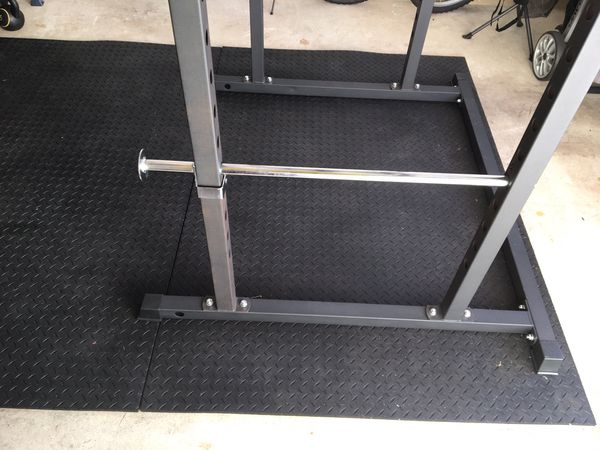 4x6 heavy duty gym floor mats - less than a month old