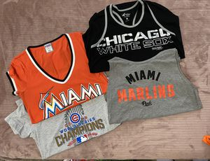 Women's baseball Tee's and Tank's for Sale in Miramar, FL