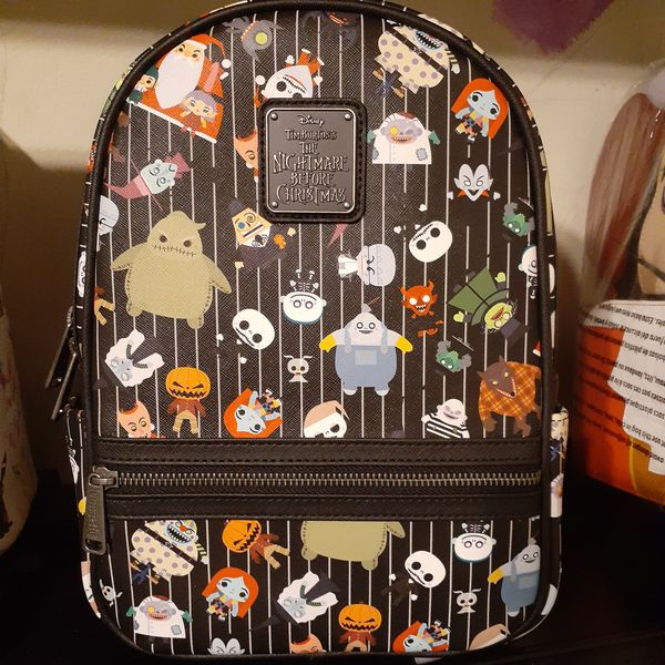 LOUNGEFLY NIGHTMARE BEFORE CHRISTMAS disney backpack