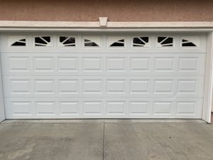 White garage door 16x7 and 6x7 for Sale in Citrus Heights, CA