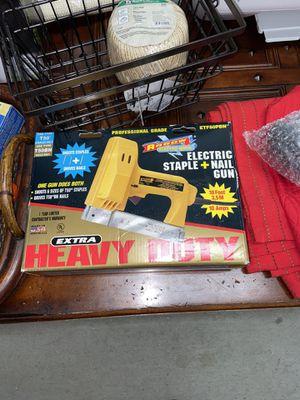 Arrow Heavy Duty Electric Staple Gun Nail Gun ETF 50 PBN for Sale in Woodstock, GA