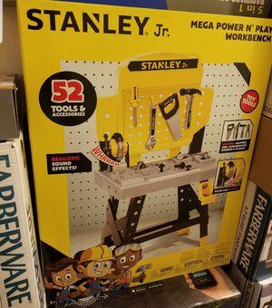 Stanley's jr Mega power n play workbench for Sale in Hayward, CA