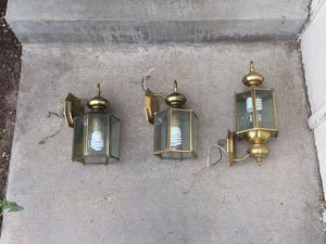 Outdoor lights/lantern for garage and patio for Sale in Colorado Springs, CO
