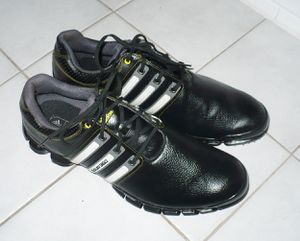 Like New Adidas 360 Tour Golf Shoes. 12 12.5 13 for Sale in North Chesterfield, VA