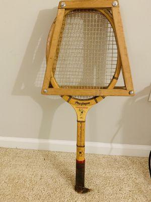 Vintage tennis racket for Sale in Plainfield, IN
