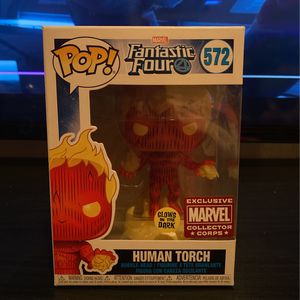 Human Torch Funko Pop Fantastic Four for Sale in Corpus Christi, TX