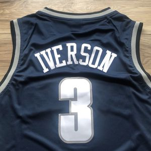 BRAND NEW! 🔥 Allen Iverson #3 Georgetown Nike Jersey + SHIPS OUT TODAY! 📦💨 for Sale in Washington, DC