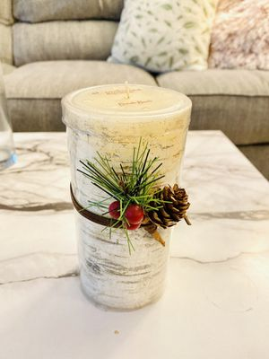 Kohl's St. Nicholas Square Candle, Birch Bark (Brand New) for Sale in New York, NY