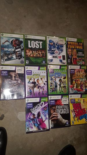 Movies, xbox 360, Wii, for Sale in Millersville, MD