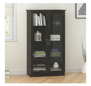 Storage Cabinet with 4 Shelves Adjustable, black forest for Sale in Alexandria, VA