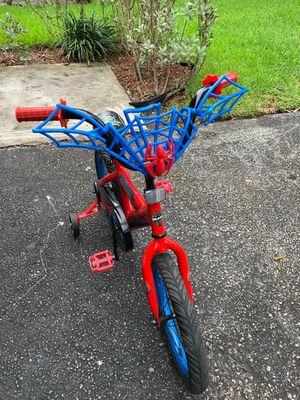 Huffy Spiderman bike size 16 for Sale in Tamarac, FL