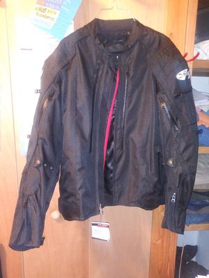 Motorcycle jacket brand new median for Sale in GLOUCSTR CITY, NJ