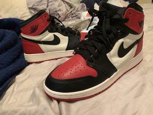 Jordan 1 bred toe for Sale in Houston, TX