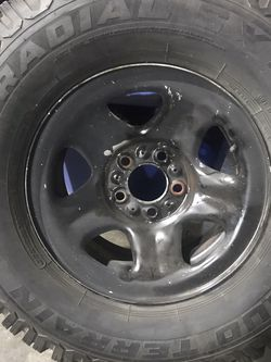 Single Traction Tire On Old Ford 15x7 Steel Wheel for Sale in Auburn,  WA