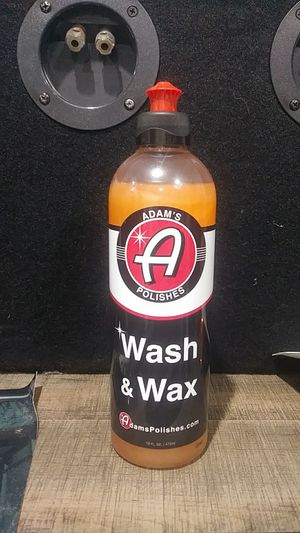 Adam's Polishes Wash and Wax for Sale in Monterey Park, CA
