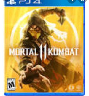 Morta Kombat 11 used once for Sale in Midvale, UT