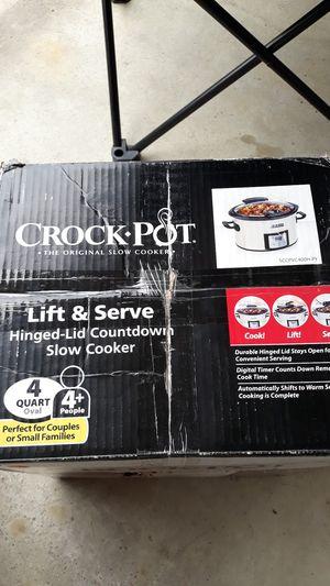 Crock Pot The Original Slow Cooker 4 Quart for Sale in Bloomfield Hills, MI