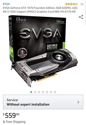 GTX 1070 Founder's Edition for Sale in Houston, TX