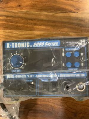 X-TRONIC 9020-XTS/ 4 in 1 soldering station & SMD Rework station for Sale in Miami, FL