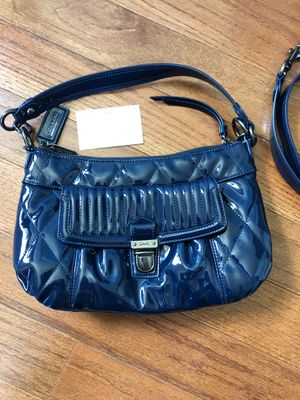 Brand new Coach purse patent leather satchel crossbody bag for Sale in Westminster, CO