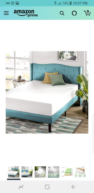 10In Full Size Memory Foam Green Tea Mattress for Sale in Phoenix, AZ