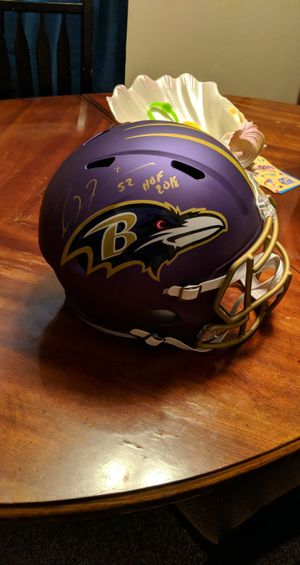 Ray Lewis autographed helmet for Sale in Martinsburg, WV