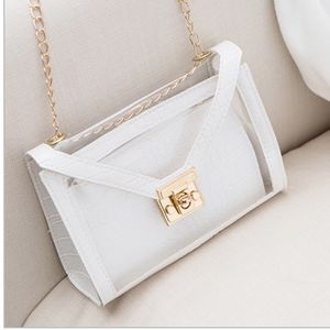 White With Gold Chain Cross Body Bag for Sale in Spencer, MA
