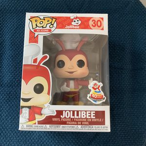 Jolliebee Funko Pop Ad Icons #30 Philippines Exclusive 40th Anniversary for Sale in Snohomish, WA