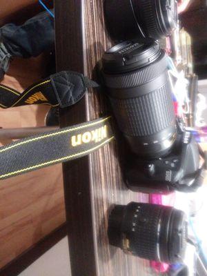 New Nikon 3400 w 3 lenses..400 obo for Sale in Portland, OR
