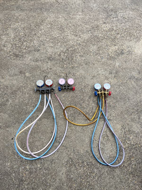 R-410A Freon gauges