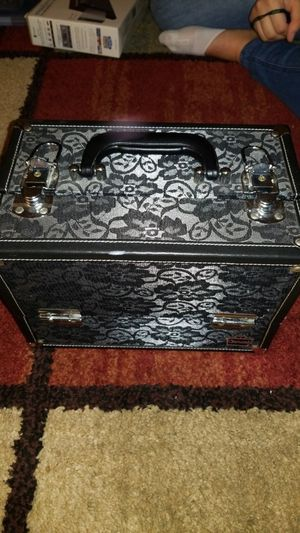 Black lace storage container for Sale in Newport News, VA