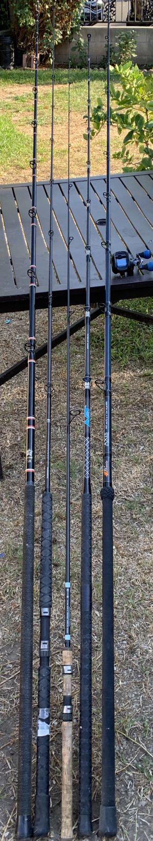 Fishing rods reels shimano daiwa avet phenix for Sale in Santa Ana, CA