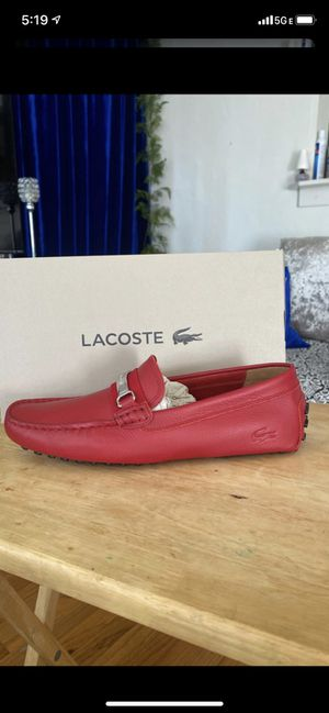New Lacoste leather dress shoes for Sale in National City, CA