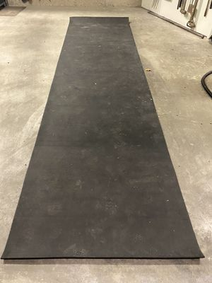 RUBBER GYM FLOORING (3 sections 4' x 15') for Sale in Kirkland, WA