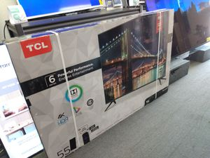 """55"""" TCL 6 series 4k UHD Smart HDR LED Tv for Sale in San Diego, CA"""