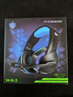 USB Gaming Headset for Xbox One, PS4, PC for Sale in Queens, NY