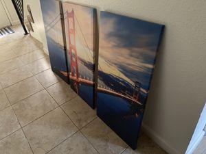 Golden Gate Bridge Canvas Print for Sale in Chico, CA