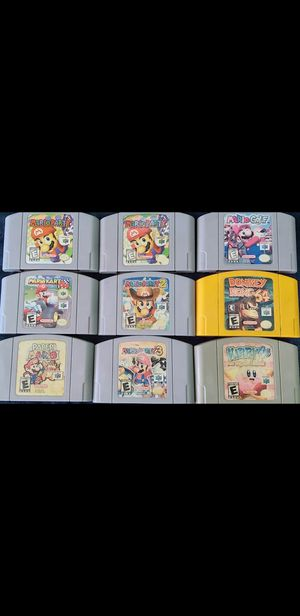 Nintendo 64 games for Sale in San Diego, CA