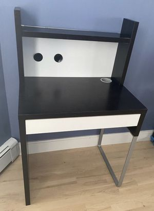 Ikea desk with blackboard and shelves for Sale in Boston, MA