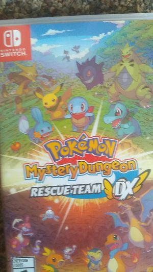 Switch Pokemon mystery dungeon red rescue team DX for Sale in Akron, OH